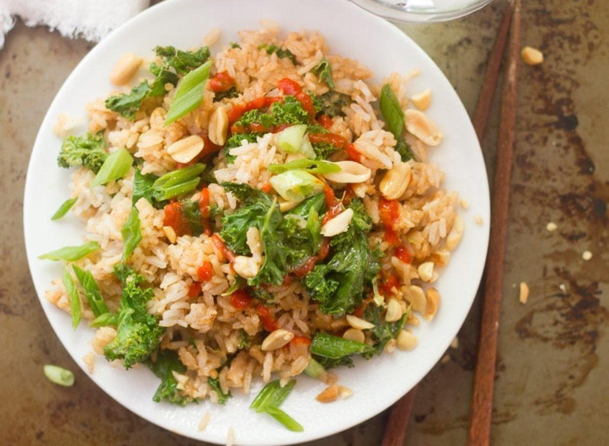 Peanut Butter Fried Rice
