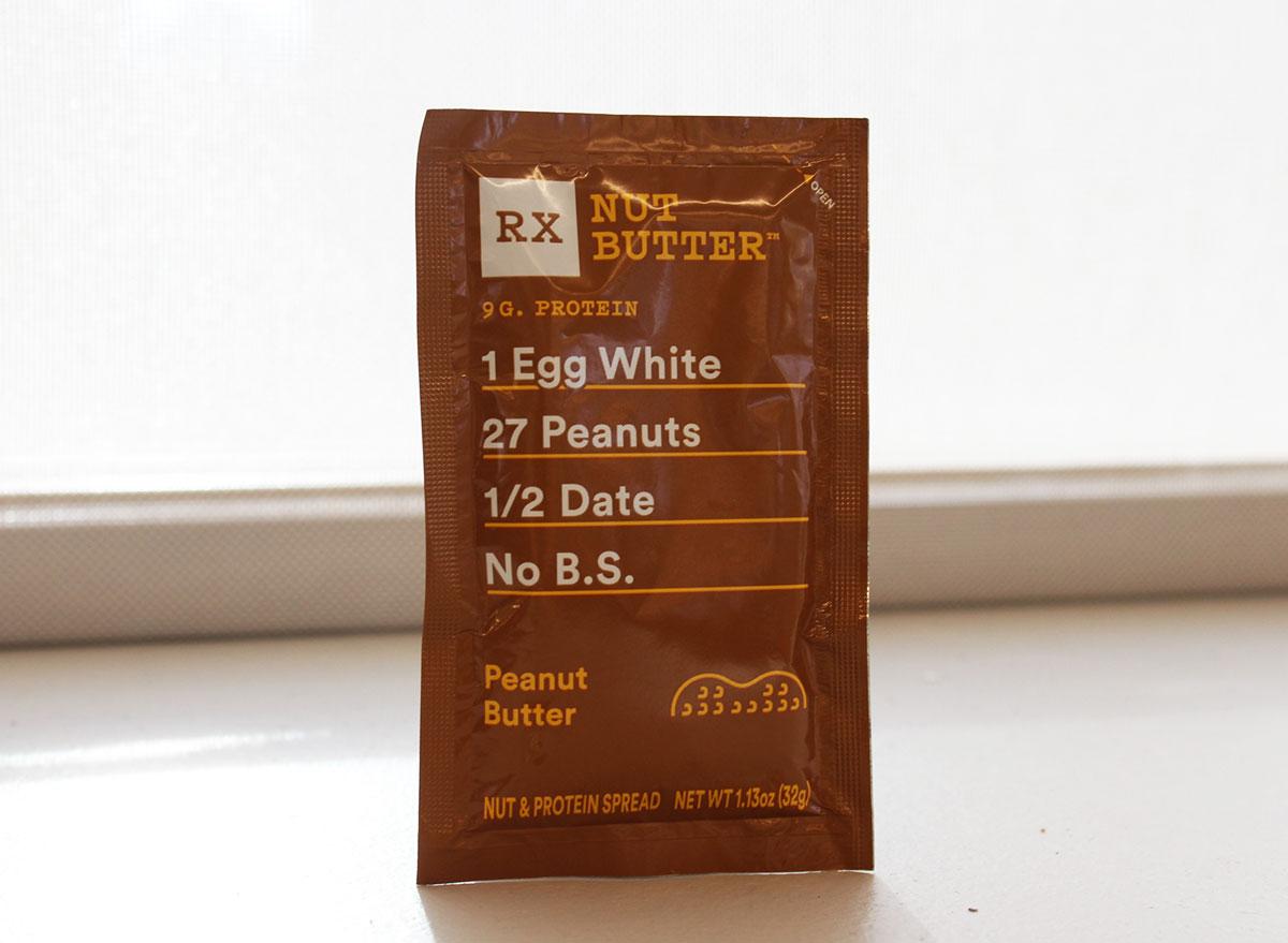rx peanut butter packet