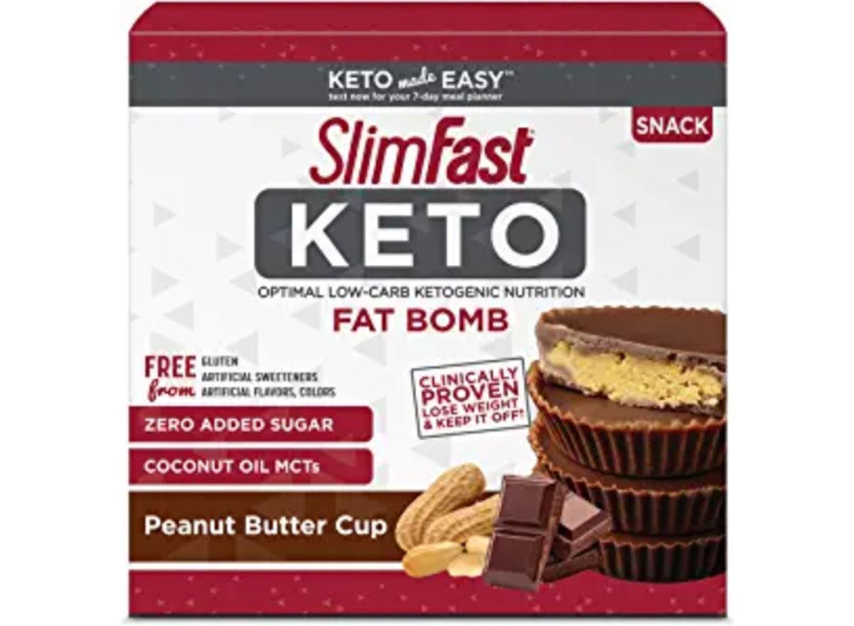 slimfast keto fat bomb snacks