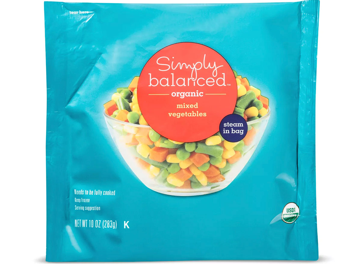 simply balanced mixed vegetables