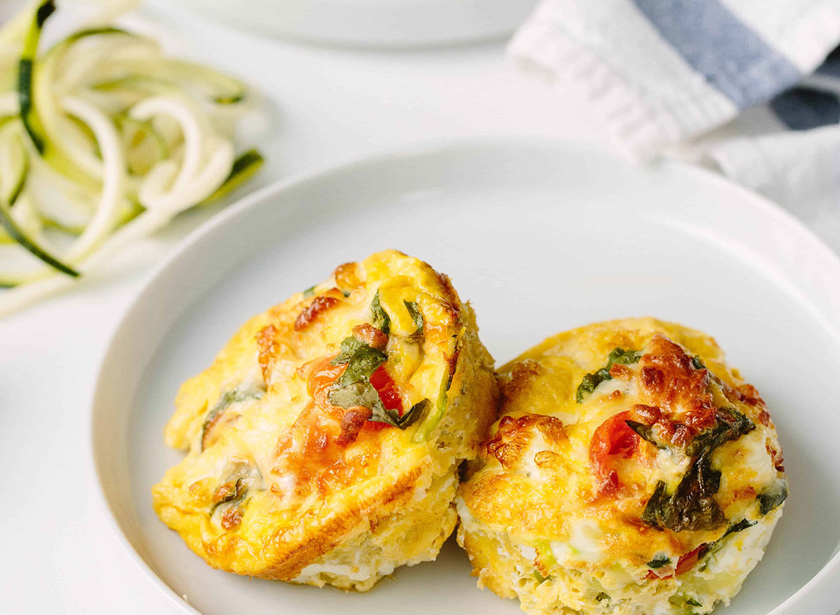 summer egg muffins