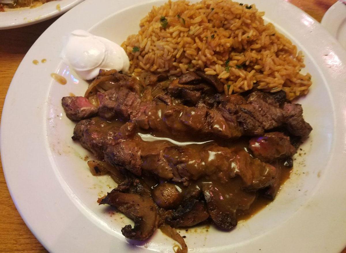 texas roadhouse beef tips