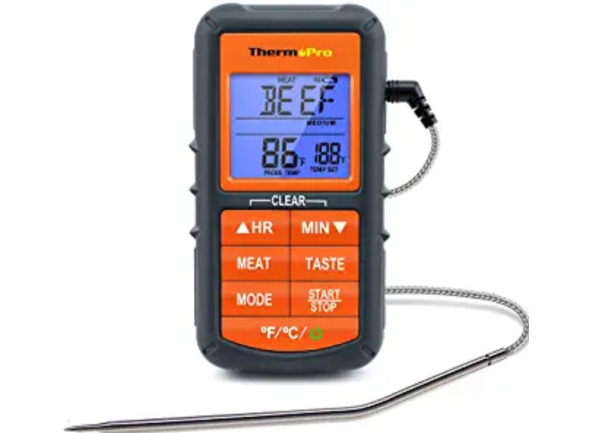 thermo pro meat thermometer with probe