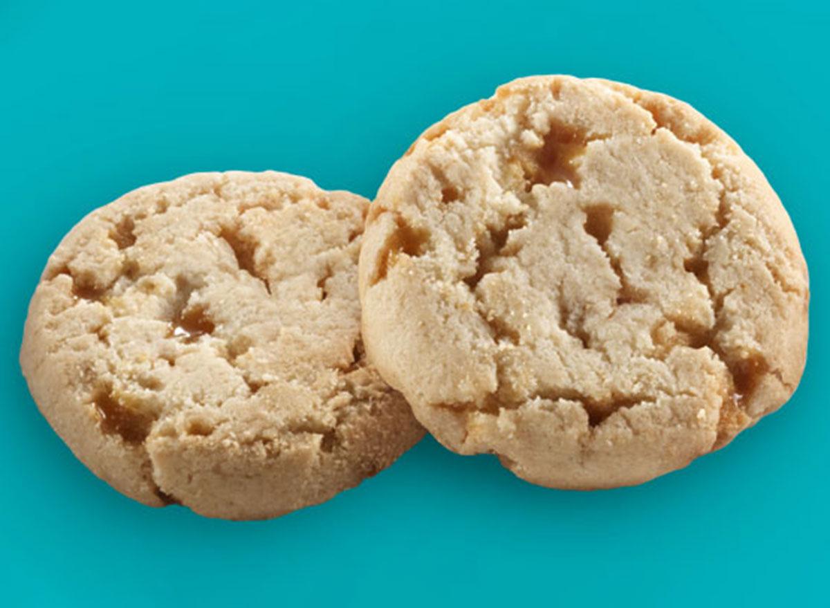 toffee tastic cookies