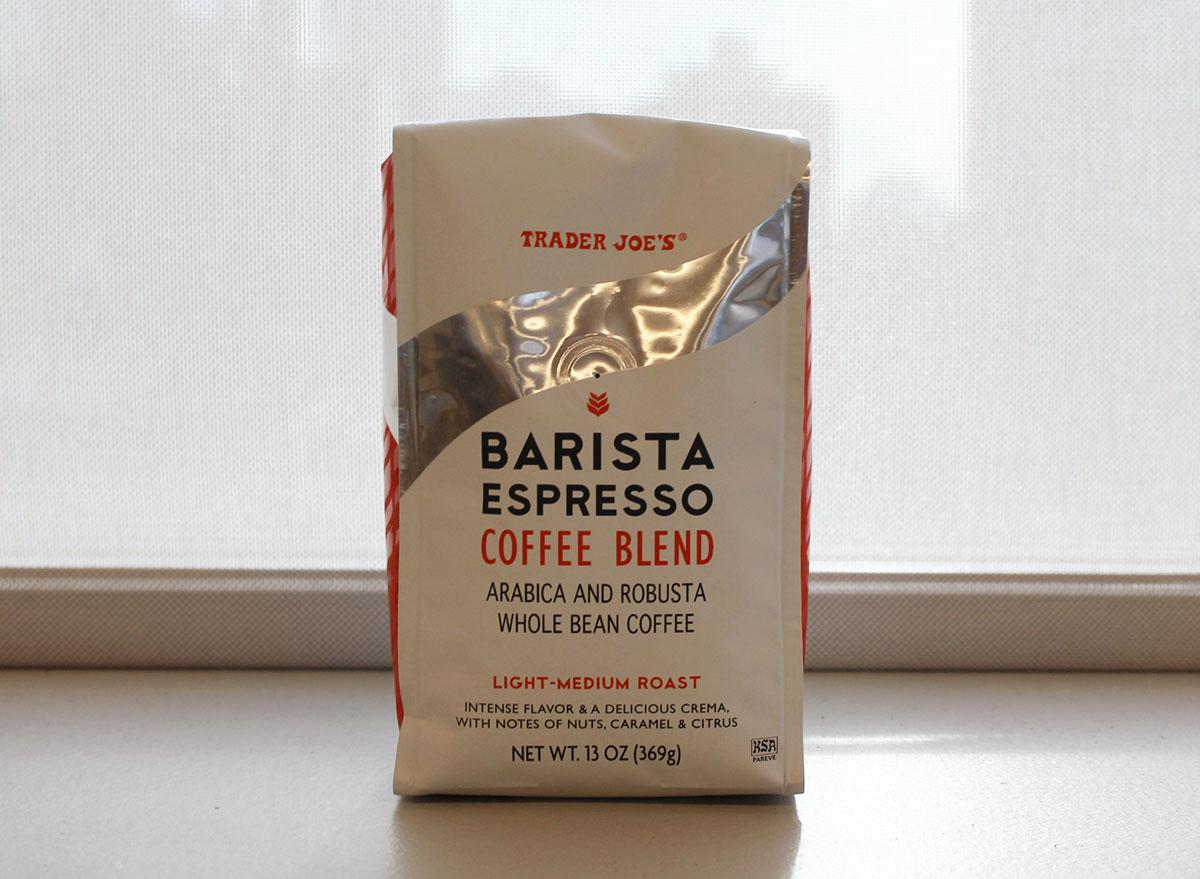 trader joes barista espresso coffee blend