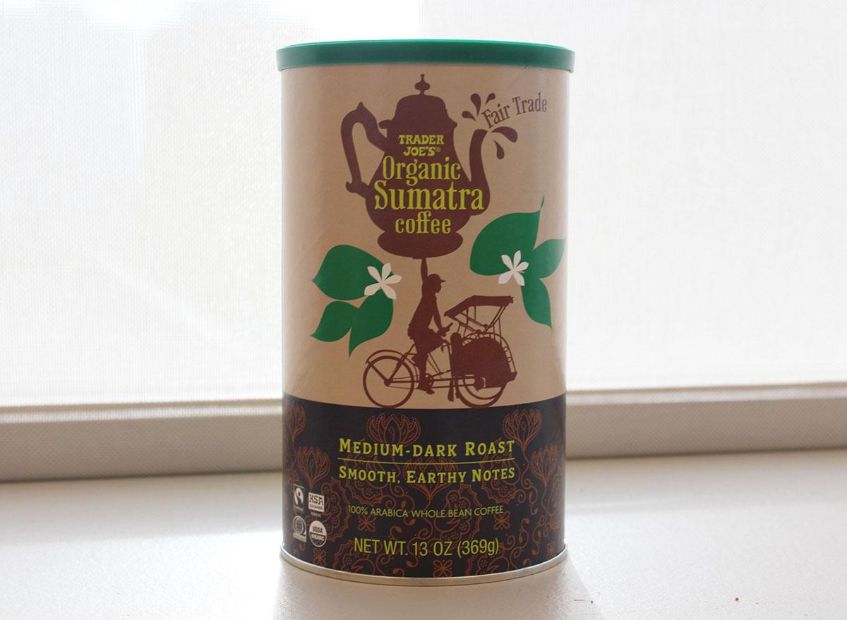trader joes organic sumatra coffee