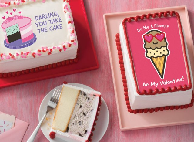 valentines day card cakes