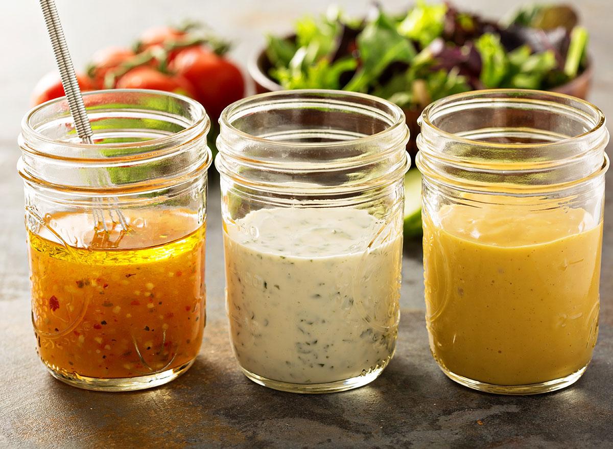 Vinaigrette dressings for salads