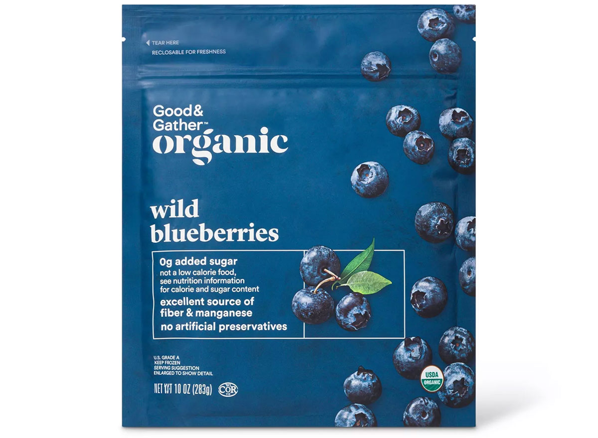 good and gather wild blueberries