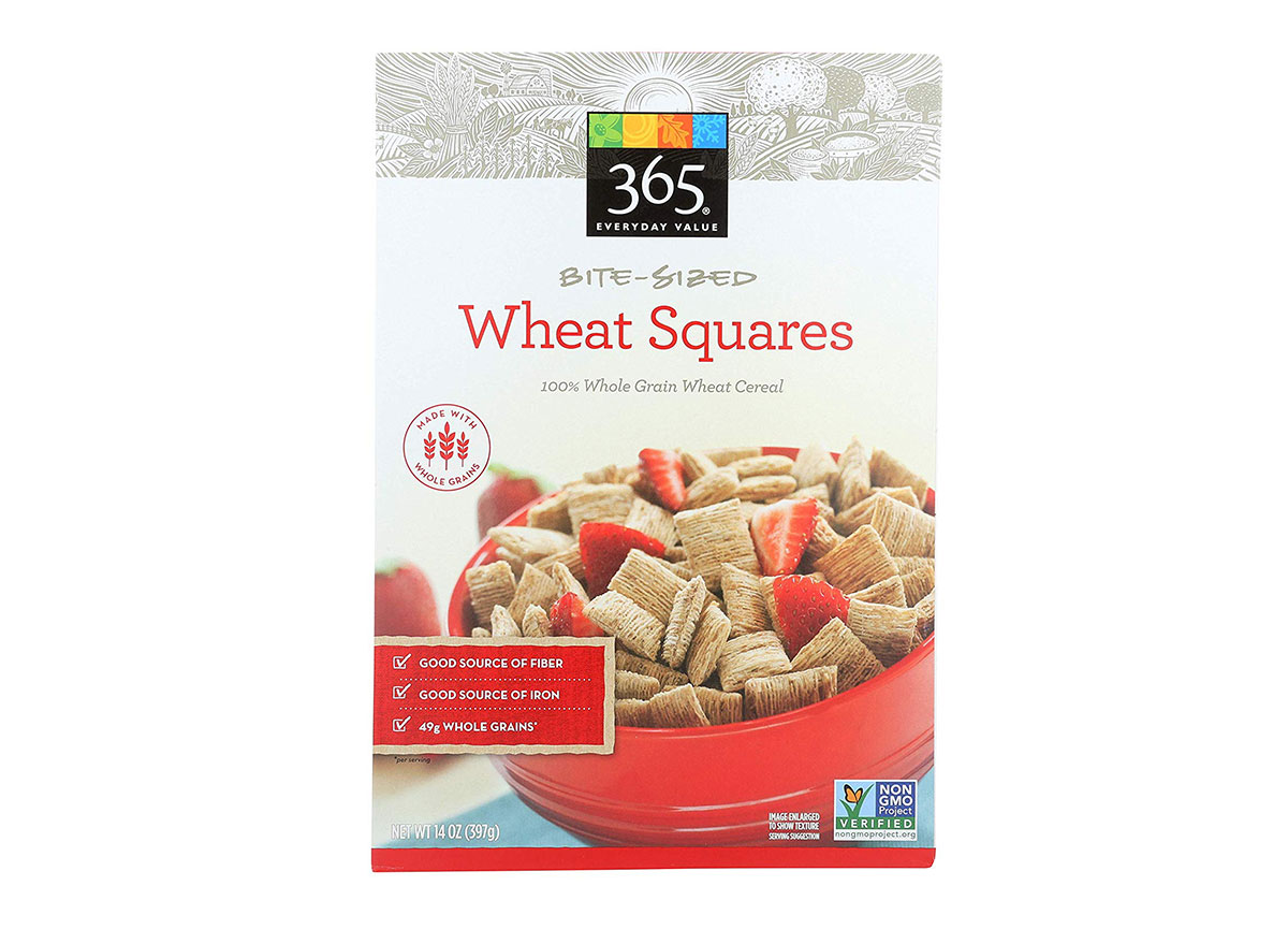 365 wheat squares cereal