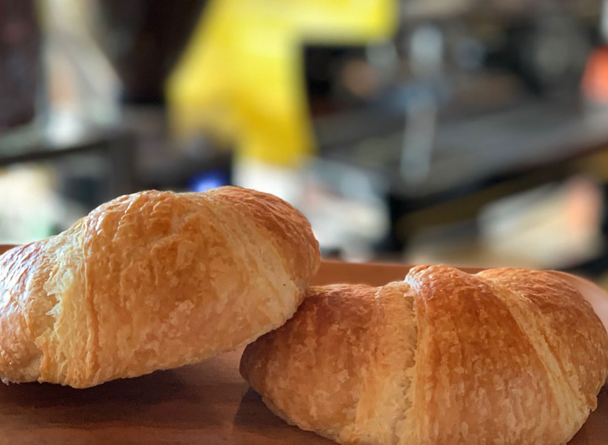 Croissants at Cafe Peanut