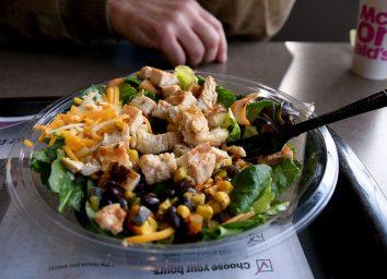 Mcdonald's southwest chicken salad