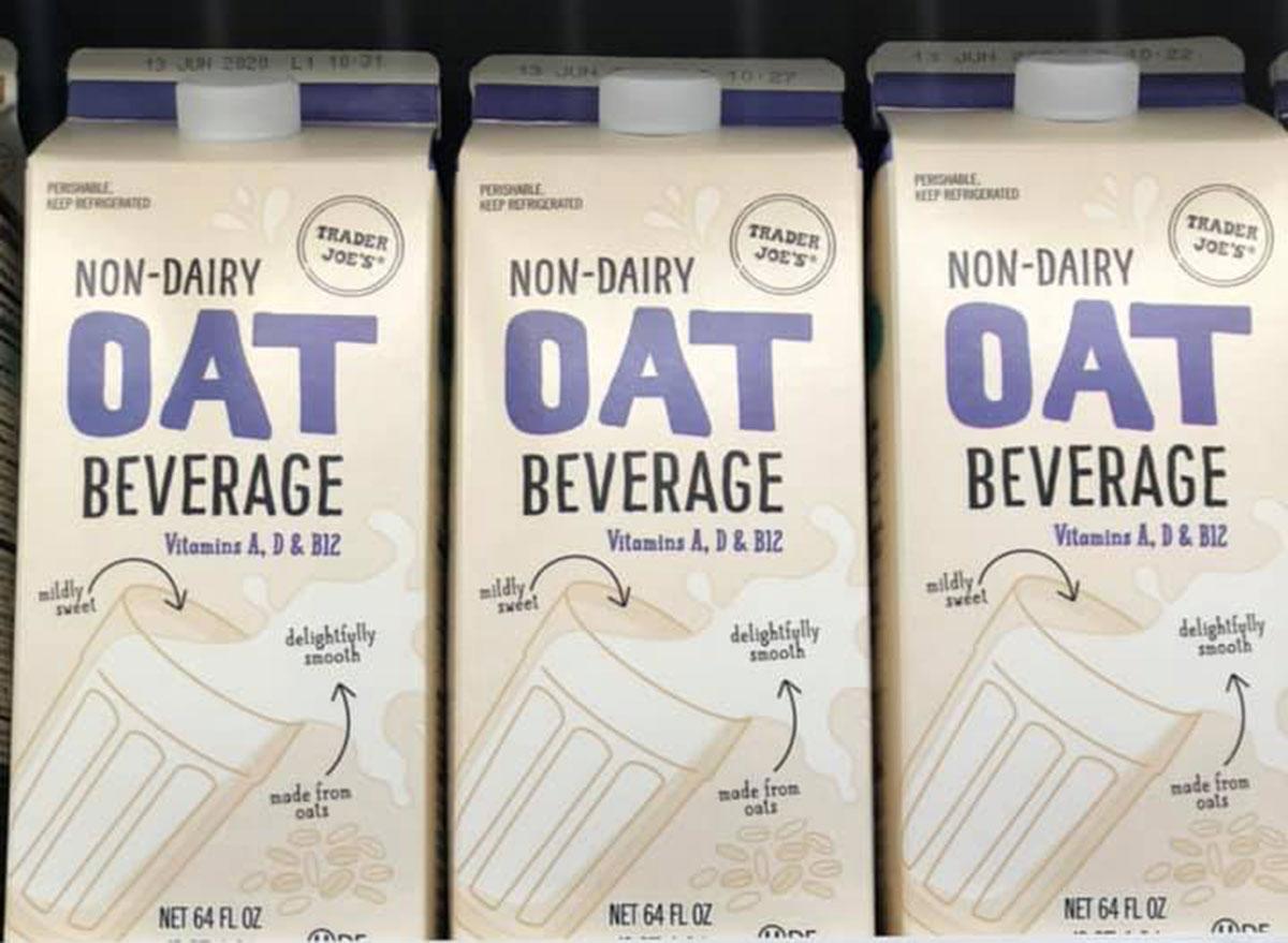 trader joe's breakfast oat milk beverage