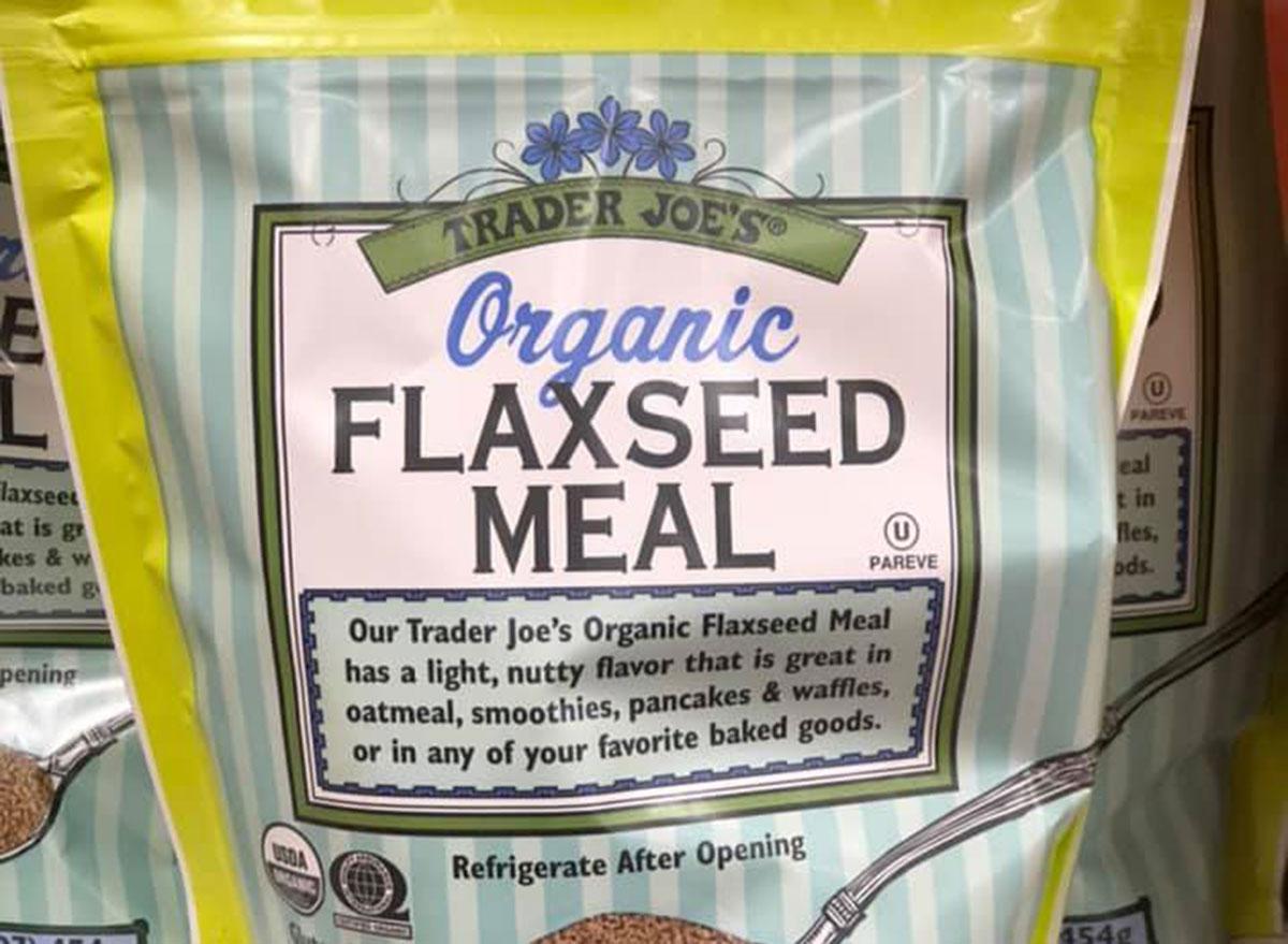 trader joe's breakfast organic flaxseed
