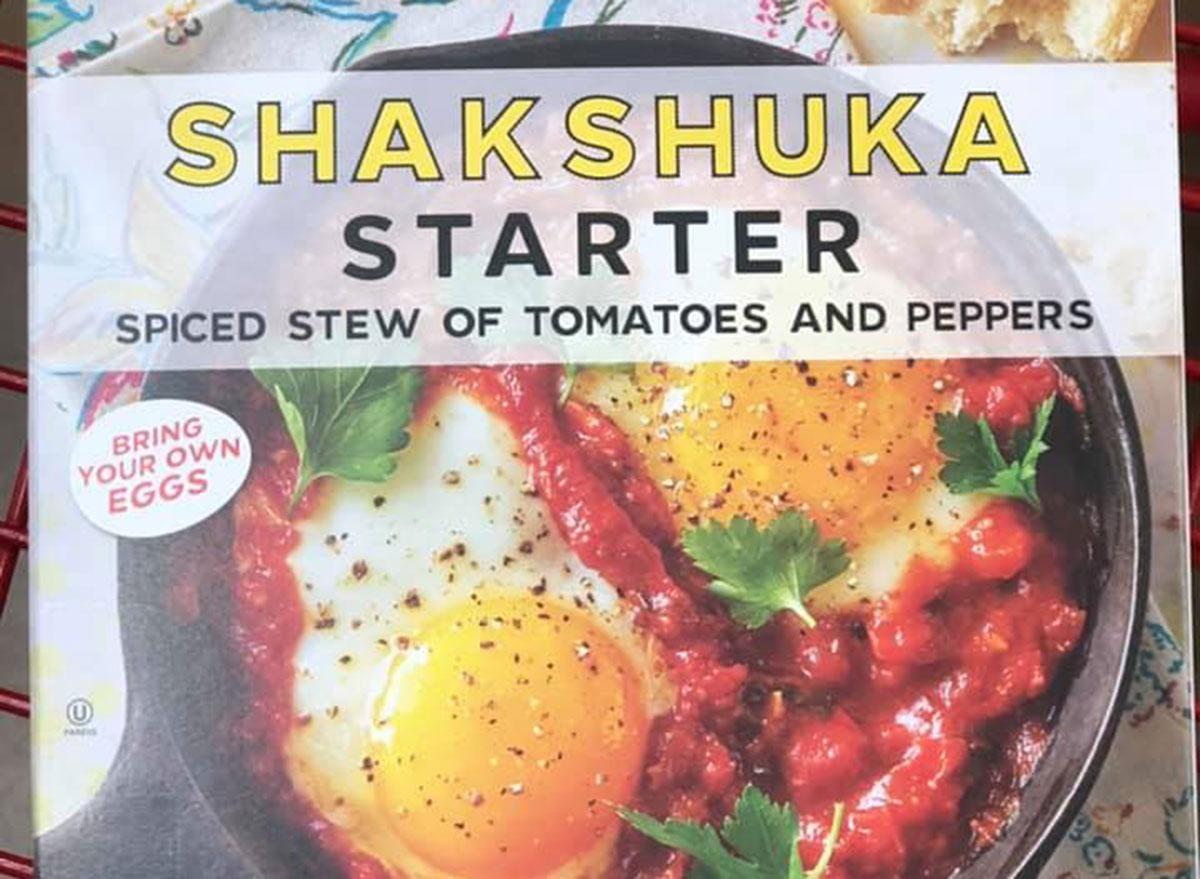 trader joe's breakfast Shakshuka Starter