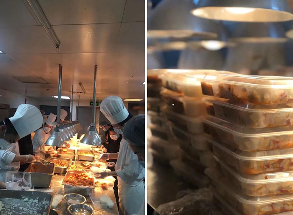 Wuhan food packs