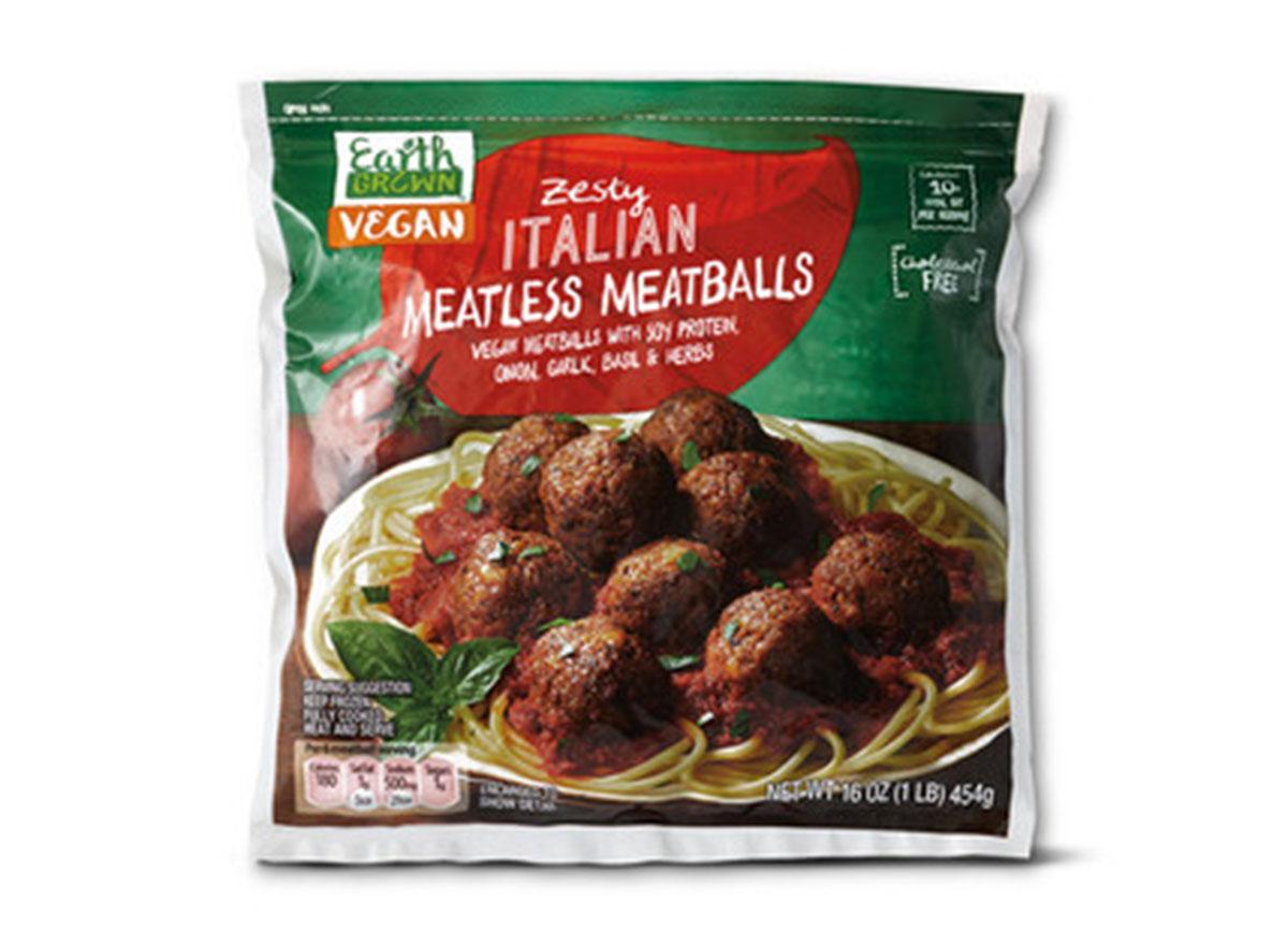 aldi zesty italian meatless meatballs