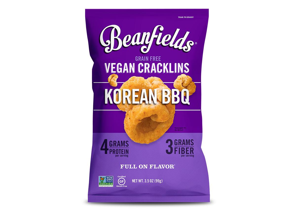 beanfields korean bbq vegan cracklins