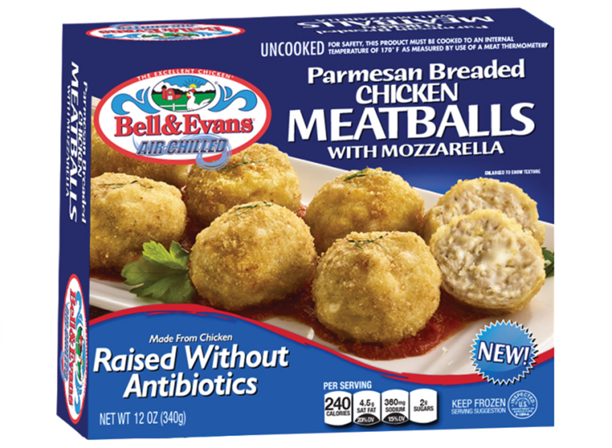 bell and evans chicken meatballs
