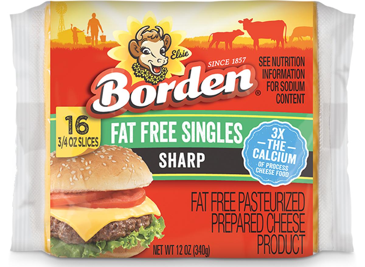 bordon sliced cheese