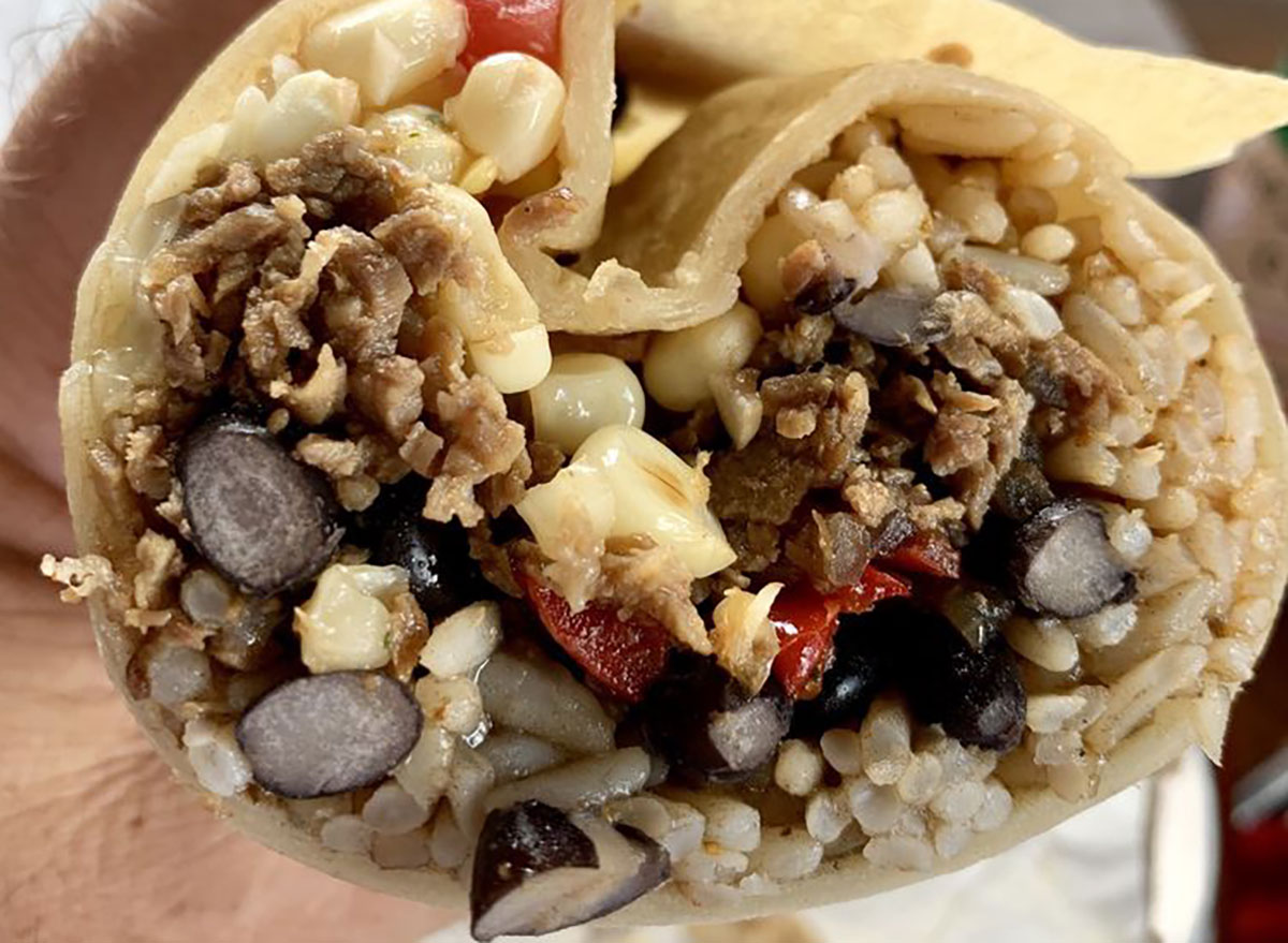 Breakfast burrito from Burrito Bonito