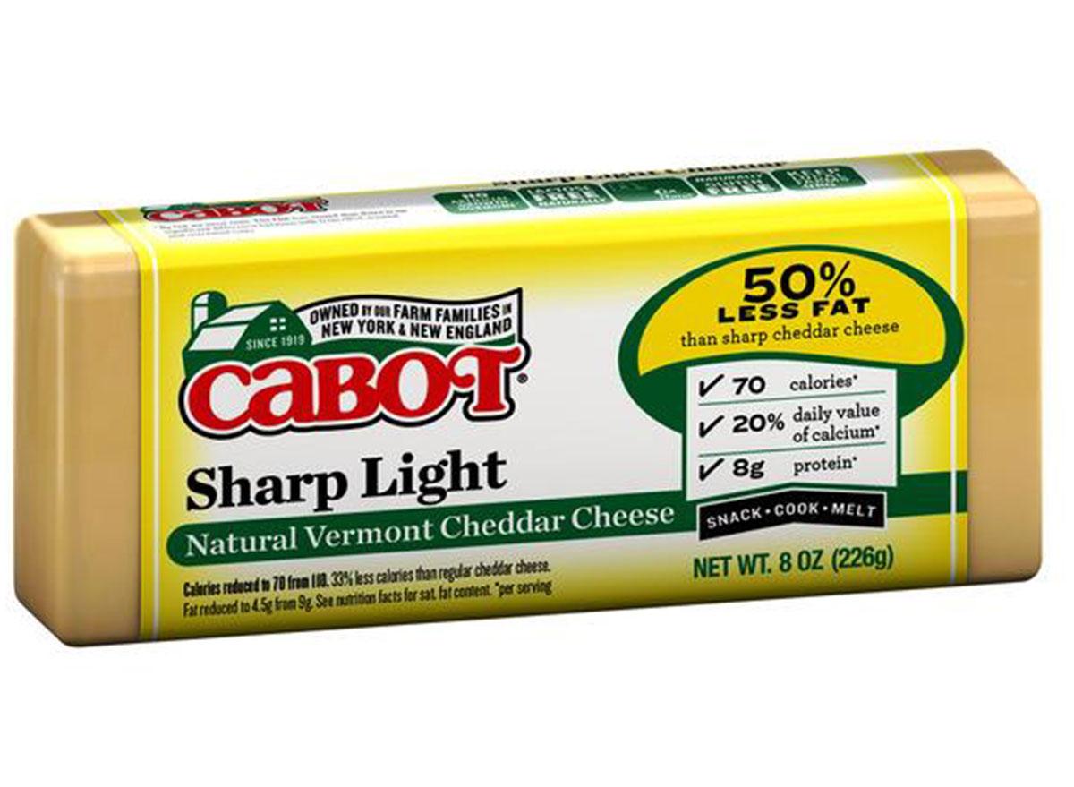 cabot light sharp cheddar