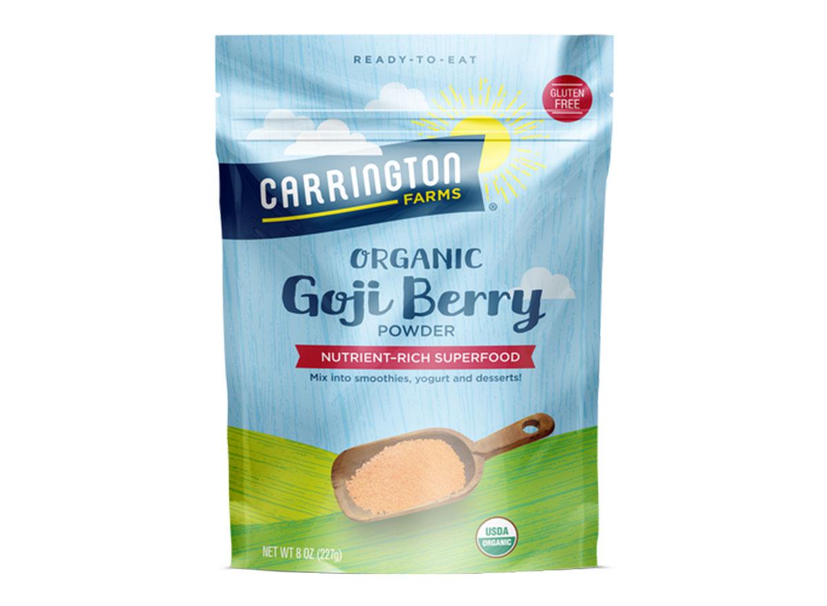 best superfood powders carrington farms goji