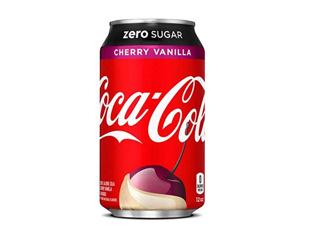 cherry vanilla coke zero sugar