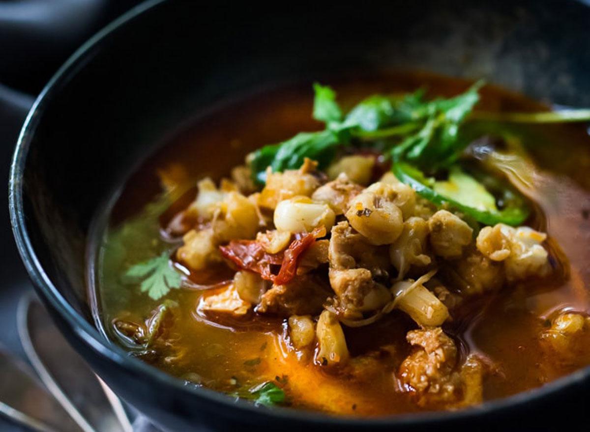 chicken pozole soup