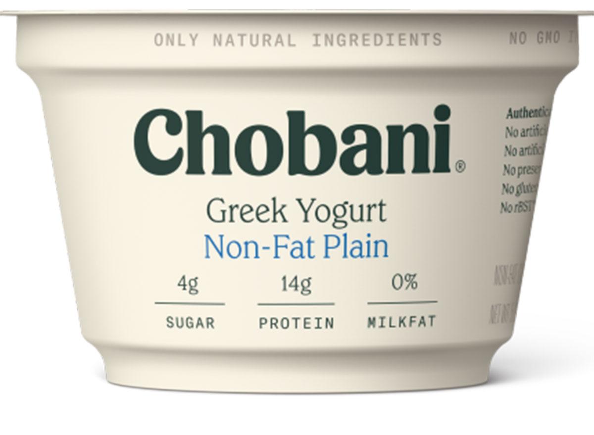 chobani plain