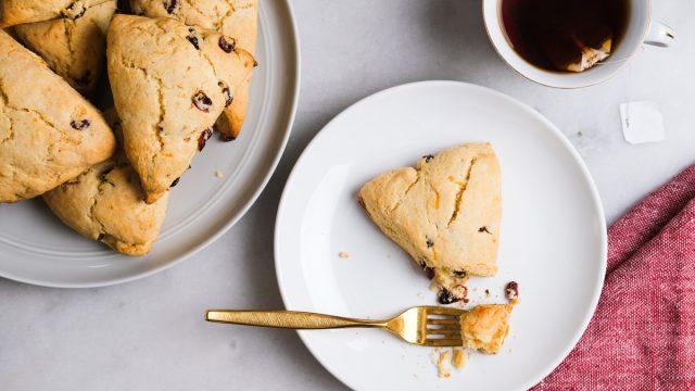 Cranberry orange scones recipe 3