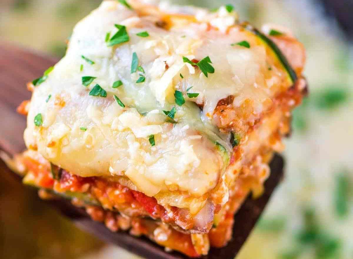 crock-pot and low-carb lasagna