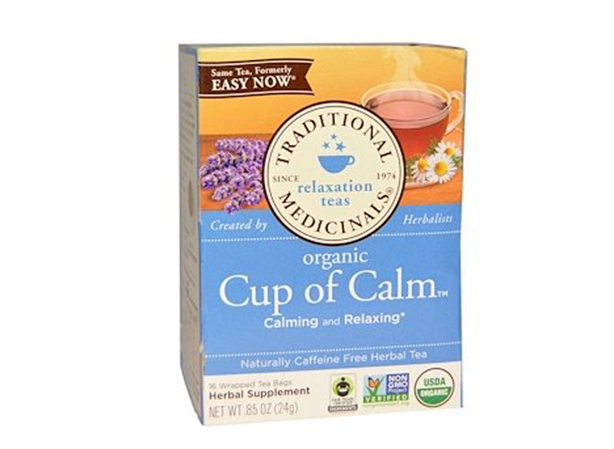 cup of calm tea