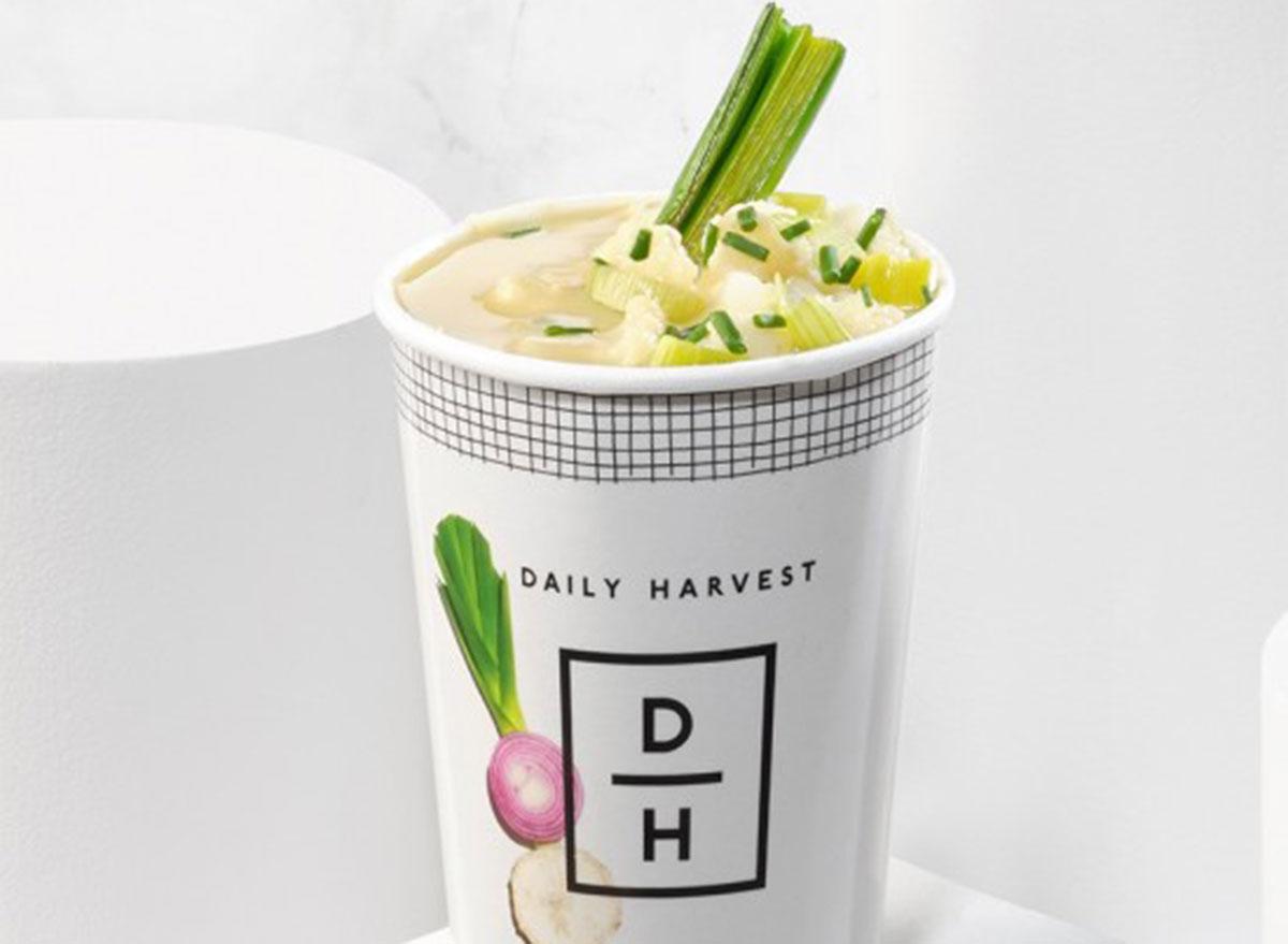 daily harvest cauliflower leek soup
