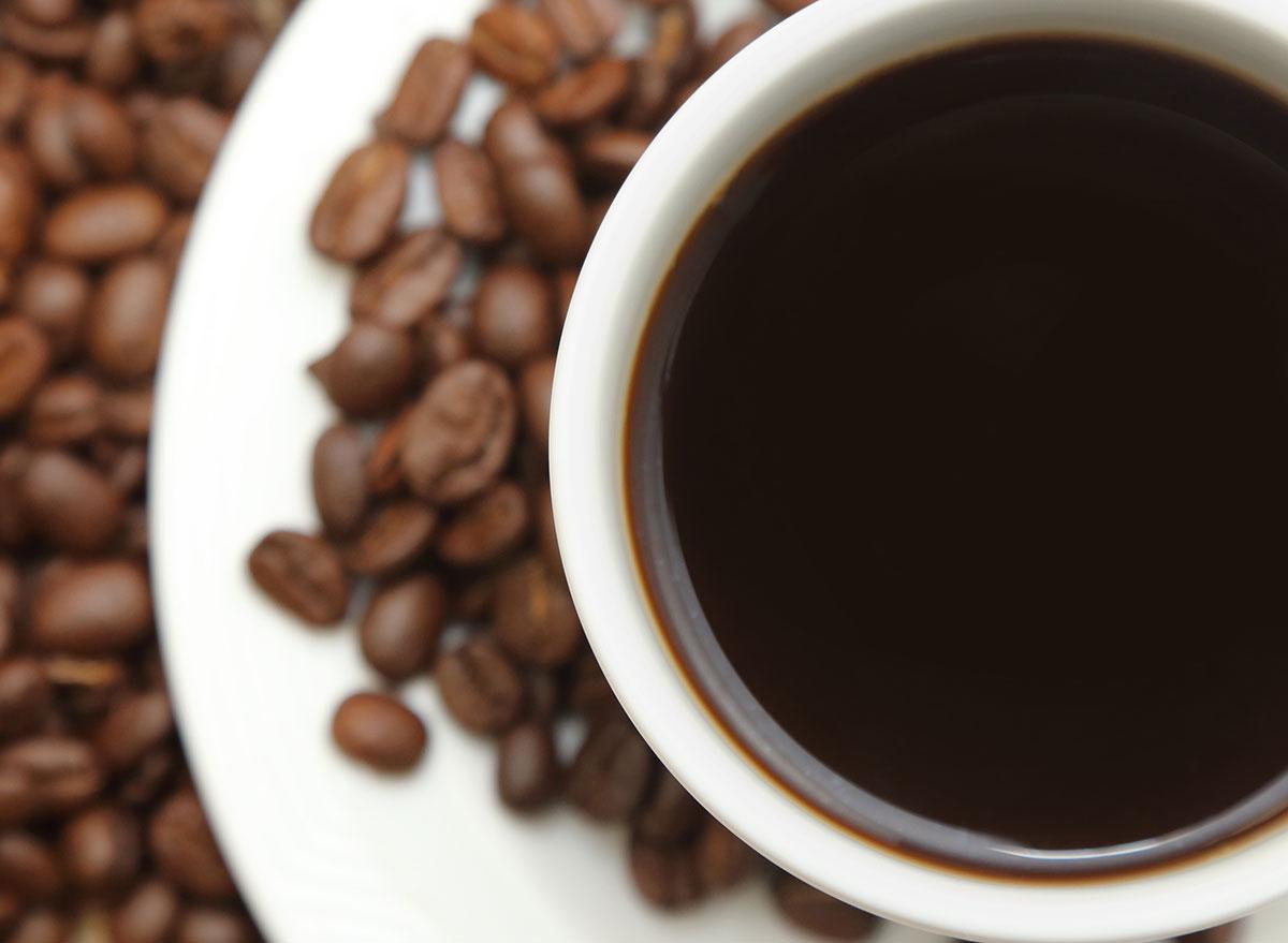 Dark roasted coffee