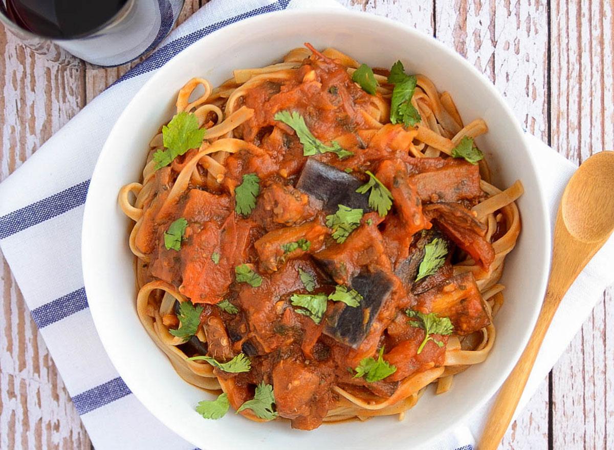eggplant tomato sauce