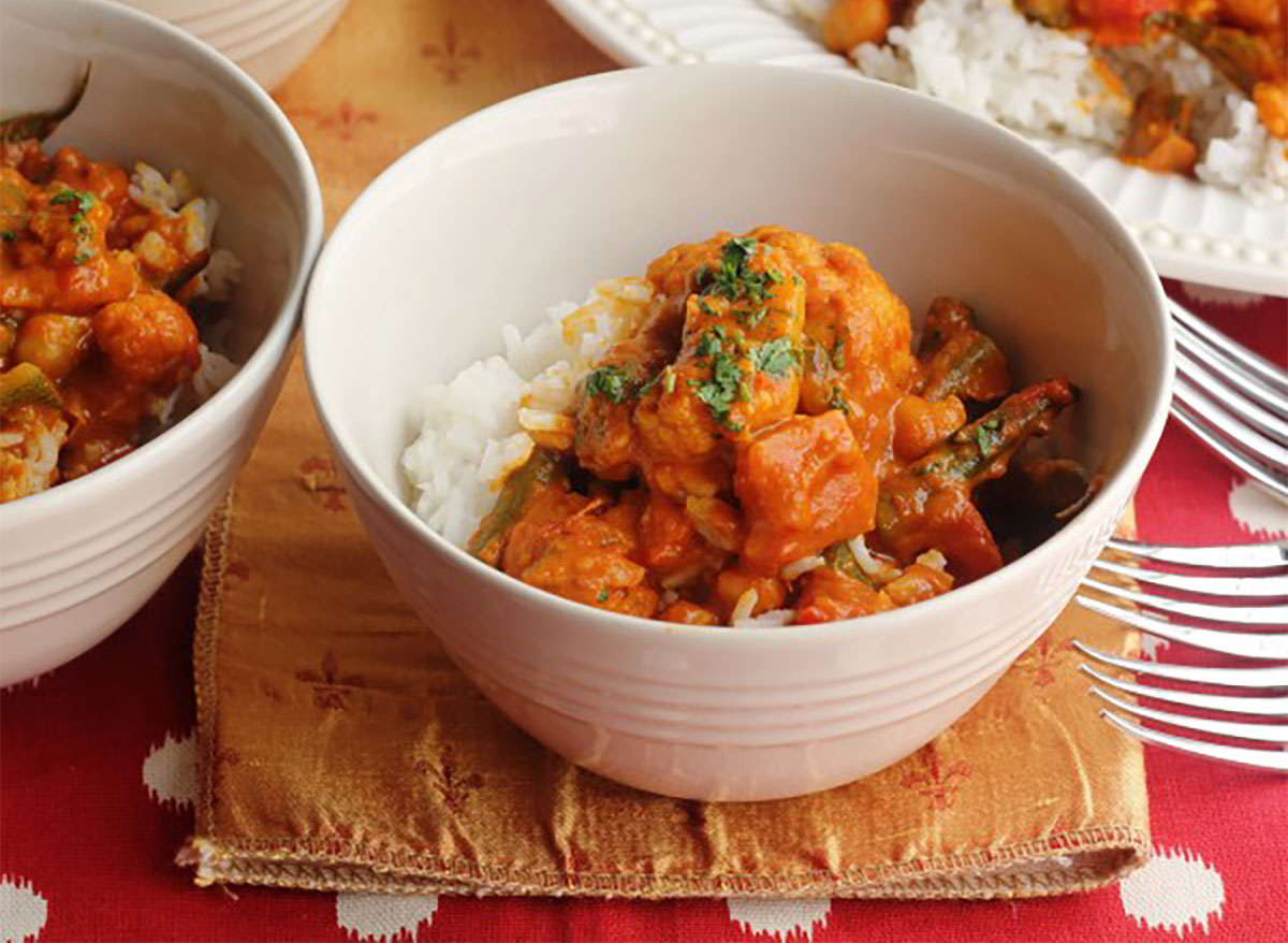 vegetable curry from chef emeril lagasse