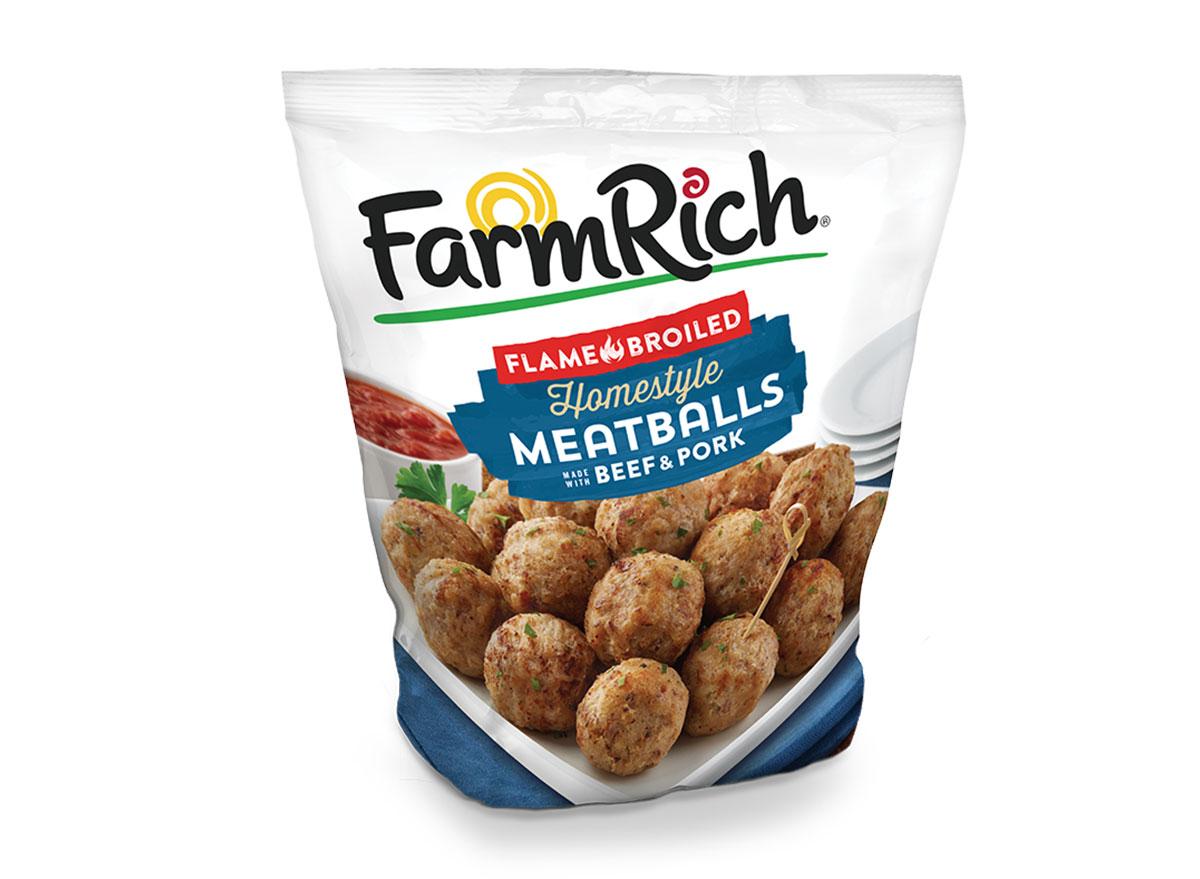 farmrich meatballs