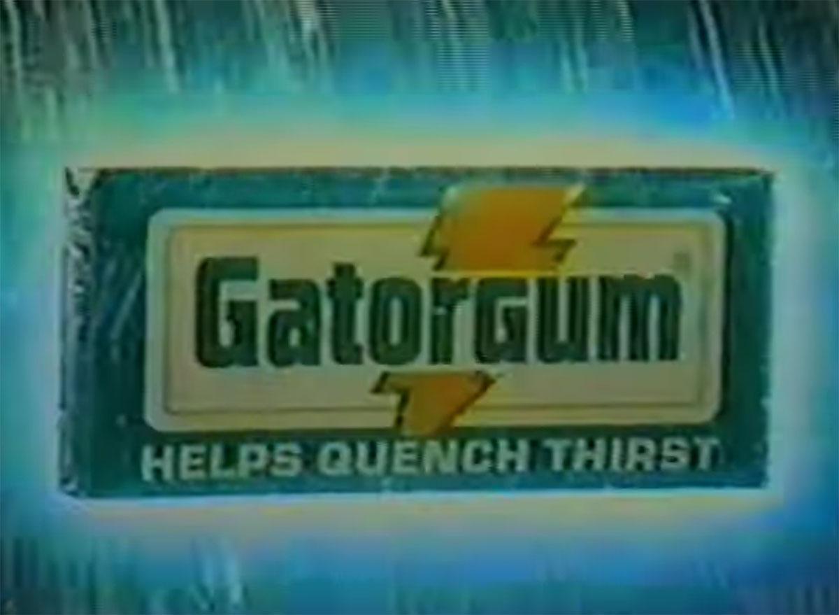 gatorade gator gum