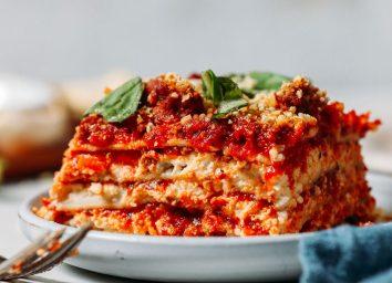 gluten-free dairy-free lasagna