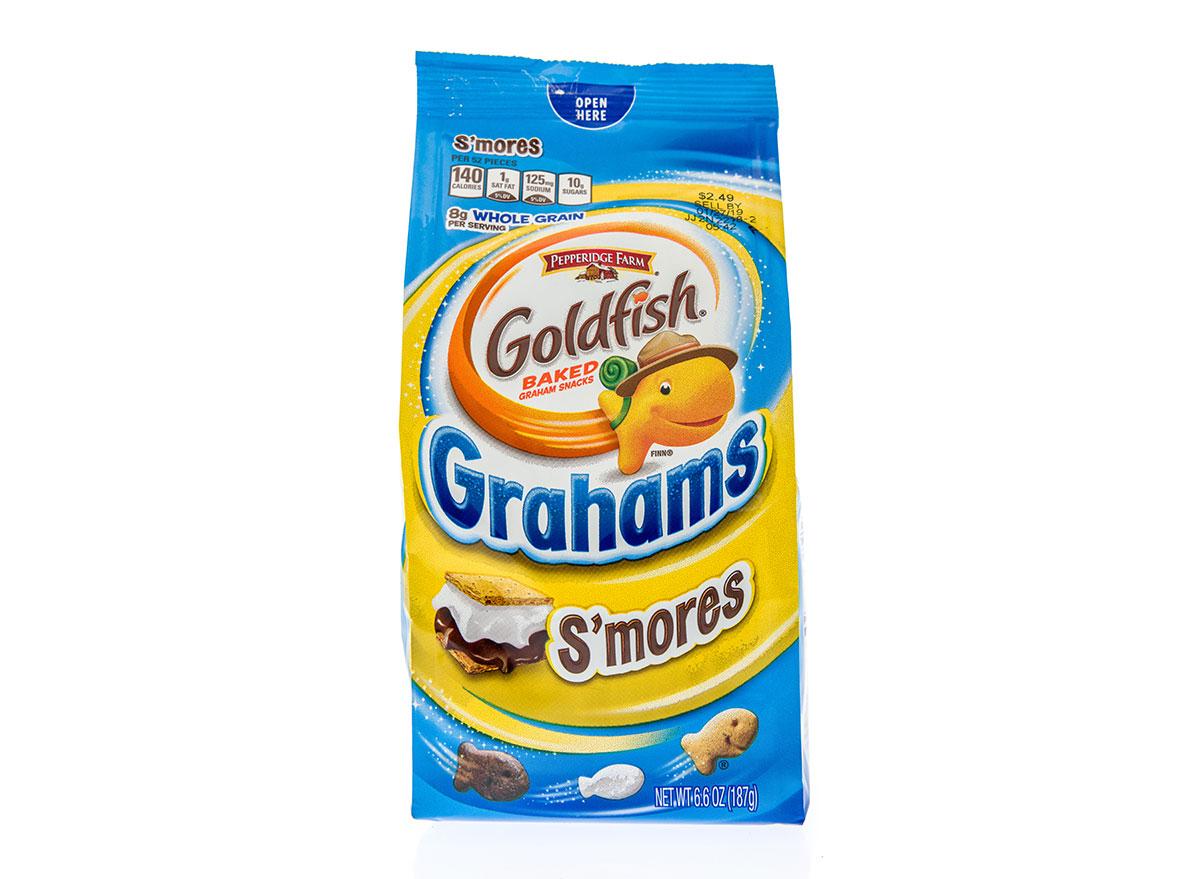 bag of smores goldfish grahams