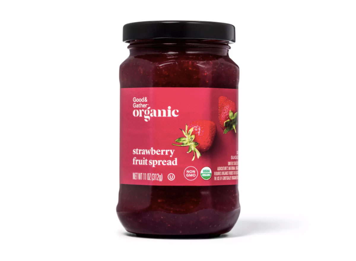 good and gather strawberry fruit spread