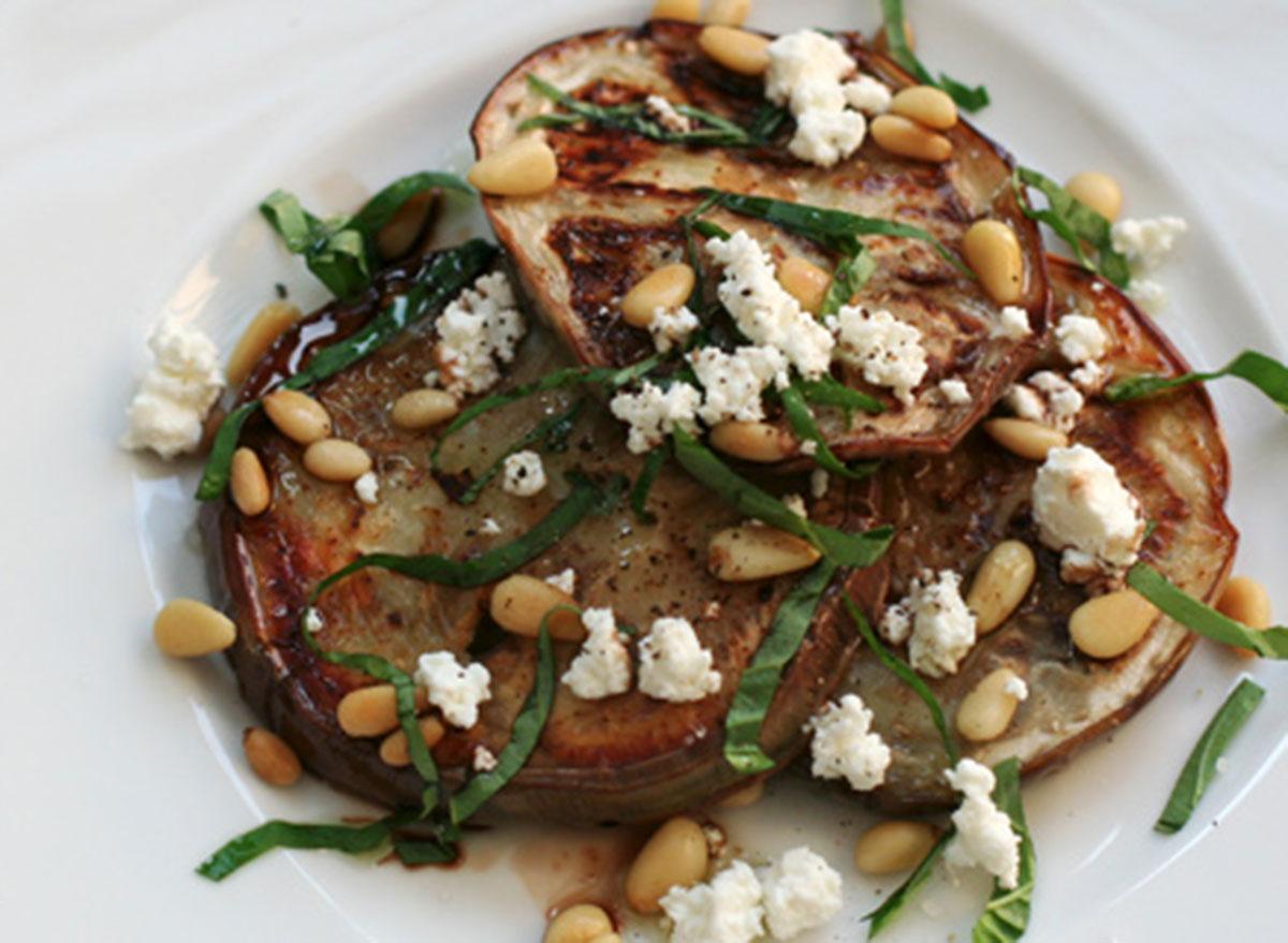 grilled eggplant salad recipes
