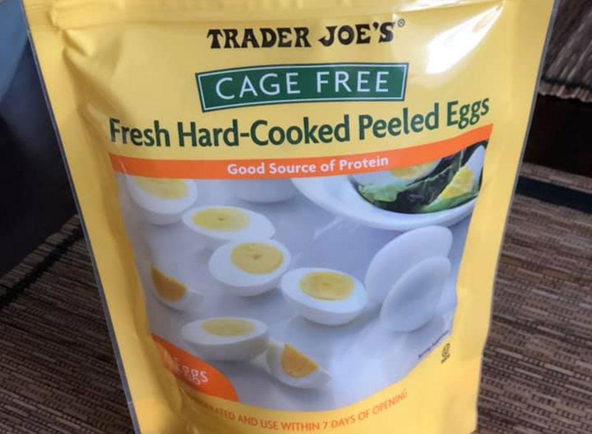 trader joe's breakfast hard boiled eggs