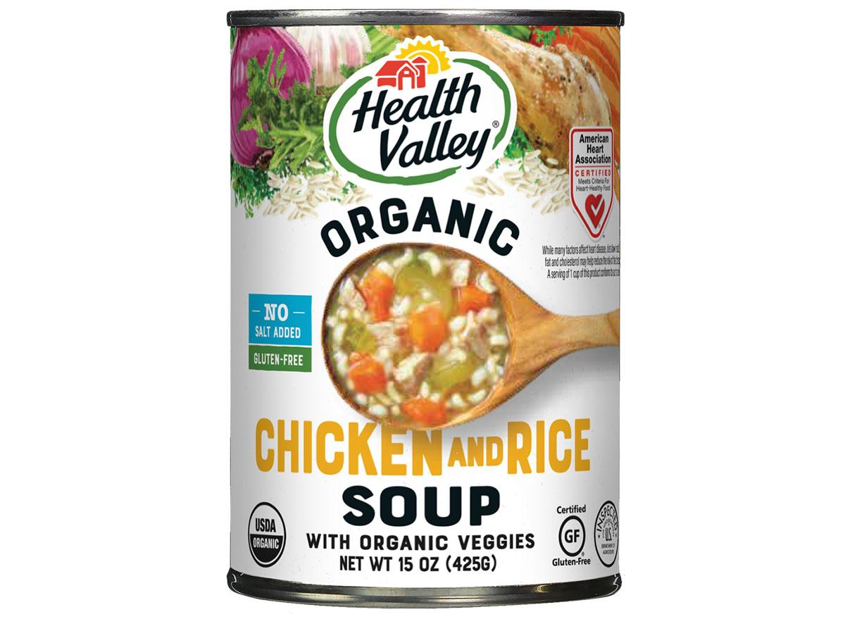 health valley chicken rice soup