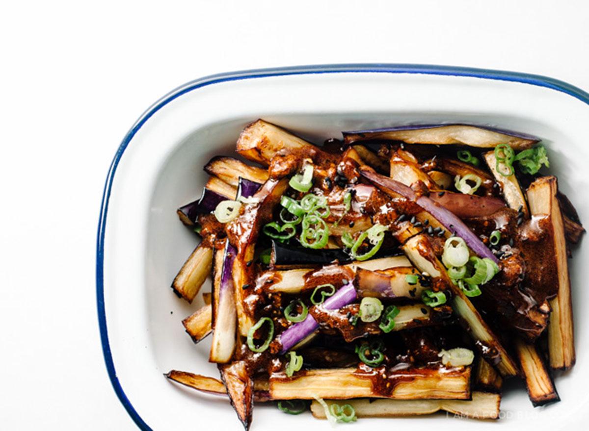 honey garlic eggplant recipes