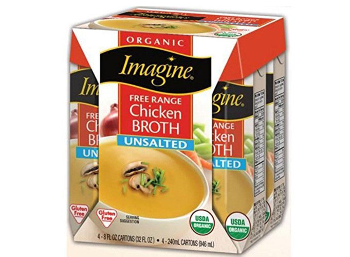 imagine foods chicken broth