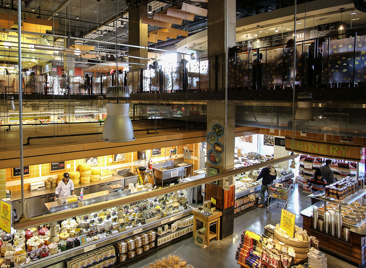 inside whole foods market