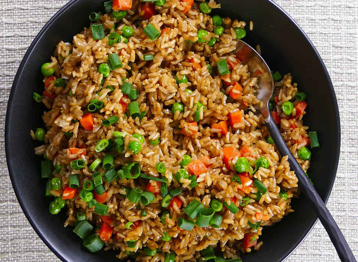 instant pot brown fried rice