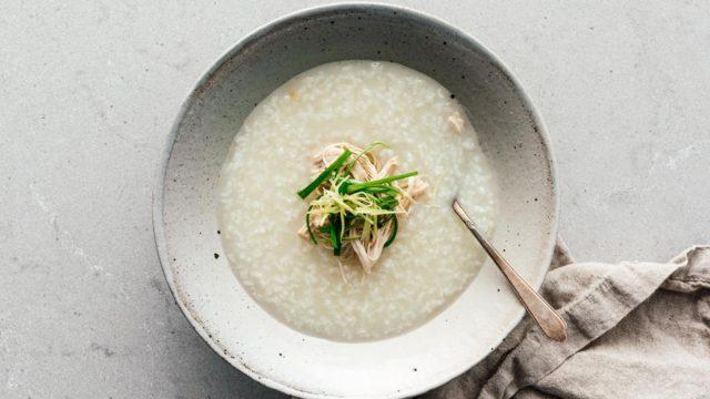 instant pot chicken congee